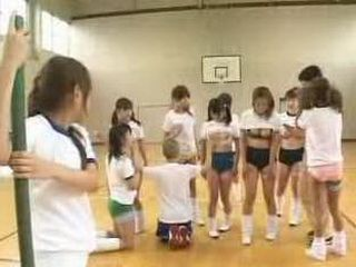Crazy Japan School With Porn Classes Having a Contest Nonktube Com