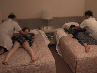 When Husband Fell Asleep During Massage Masseurs Fuck His Cheating ...