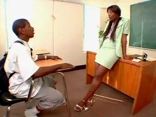 Black Teacher Ebony Student
