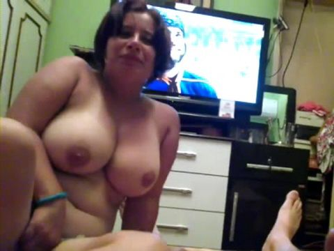 Real amateur large heavy hangers fucked