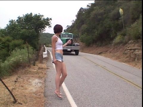 Hitchiking couple gets fucked for ride Teen Hitchhiker Fucks A Stranger For A Ride Home Nonktube Com