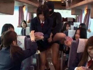 Invisible Sex Japan - Invisible Man Sexually Assaulted Schoolgirls In Bus At School Excursion -  NonkTube.com